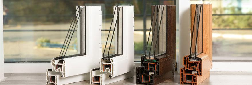 Types de matériaux de fenêtre
