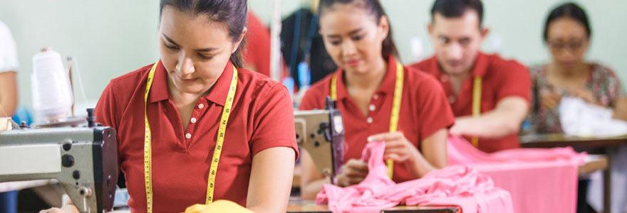Domaine du textile