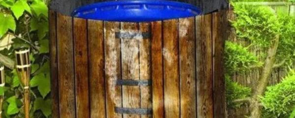 cuve de récupération d'eau